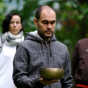 Logo del grupo Iniciación Meditación. Prof: Sergio Iglesias. Flexibilidad horaria