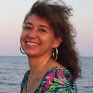 Logo del grupo Iniciación Meditación. Prof: Rosa Mari Dulcet. Flexibilidad horaria